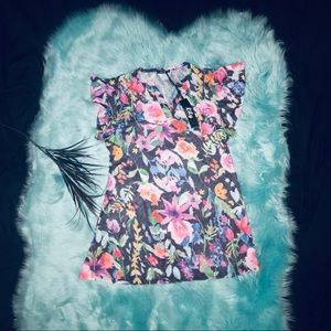 Tops - Lily by Firmiana- NWT Floral dress or tunic